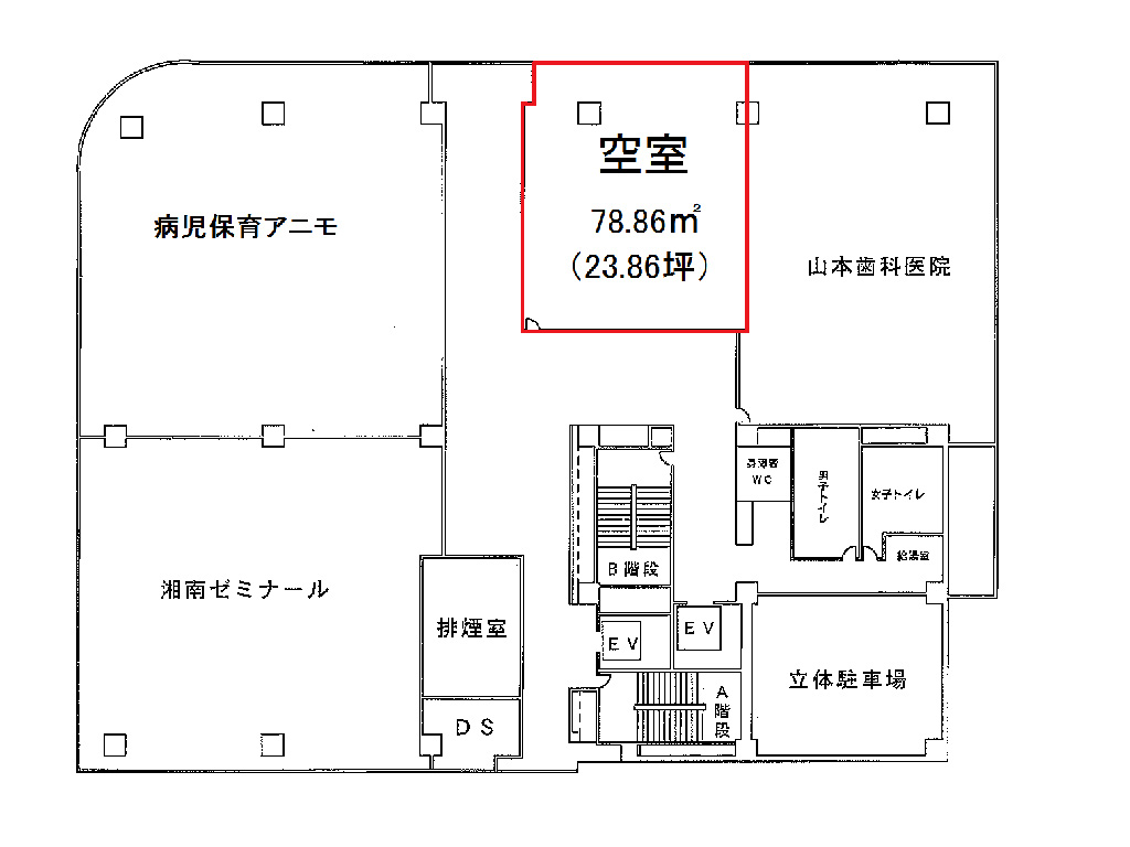 星川SF4-3フロア図