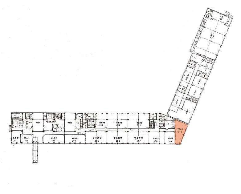 214ビル3F案内図